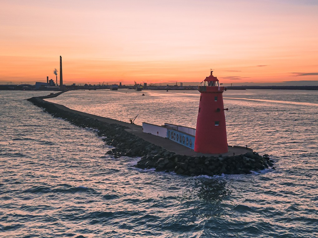 Dublin Sunset - The Great South Wall - Poolbeg