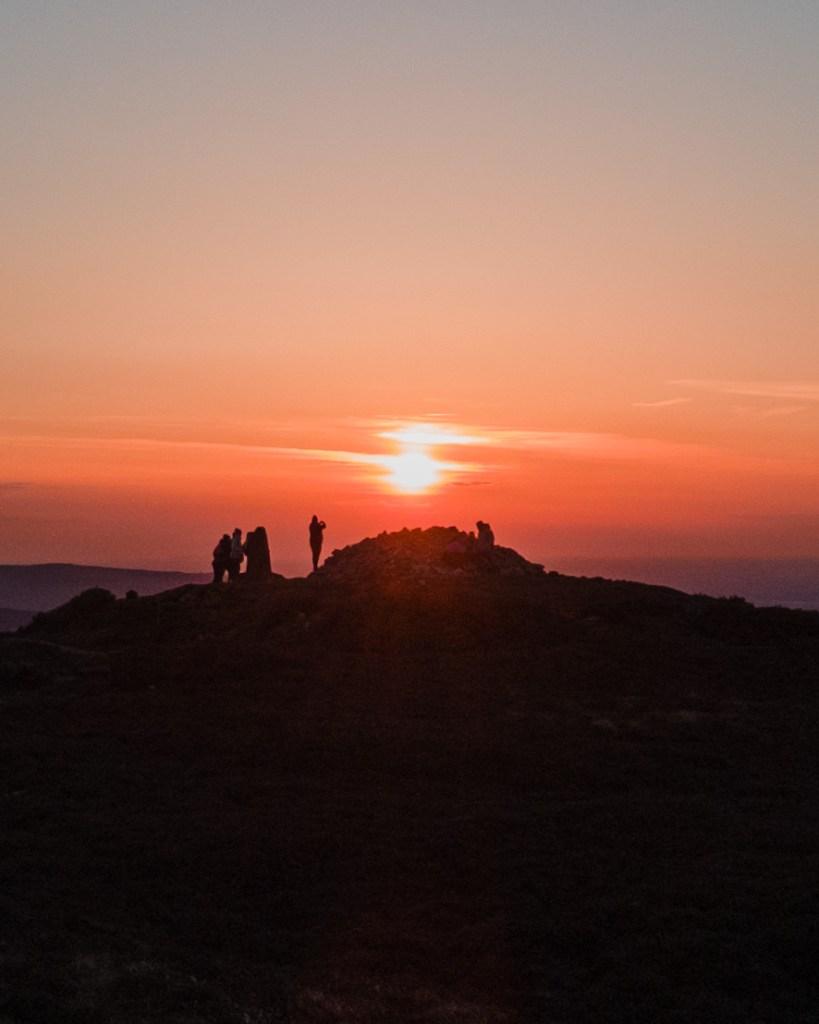 Dublin Sunset - Ticknock Dublin Mountains