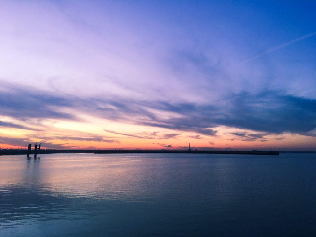 Dublin Sunset Dun Laoghire