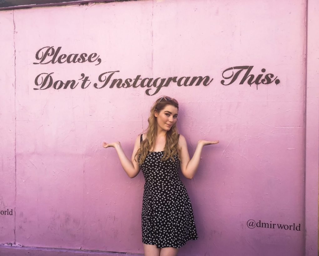 Please dont instagram this wall los angeles