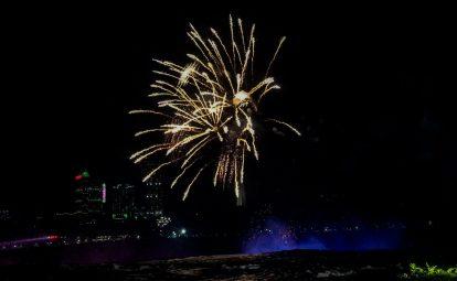 Fireworks, Niagara Falls, New York