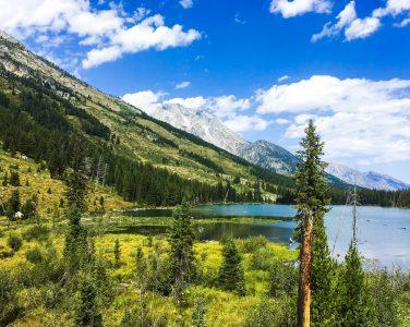 Hiking Grand Tetons Spring Lake
