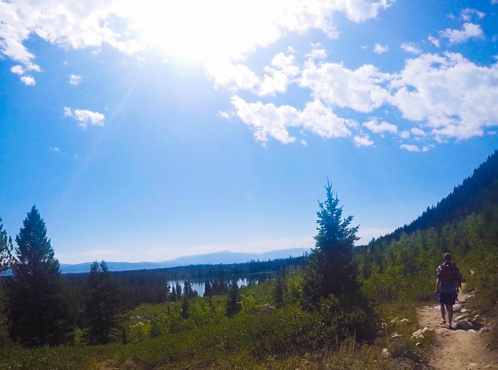 Hiking Grand Tetons