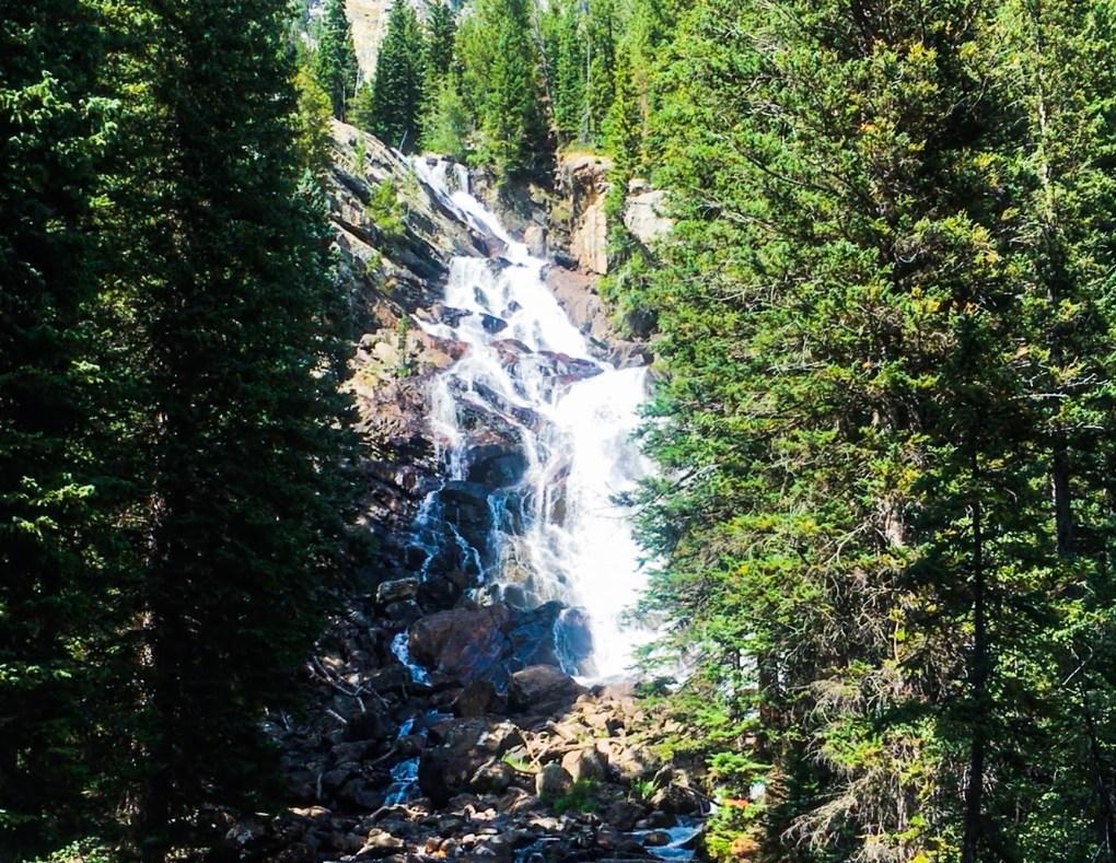 Hiking the Grand Tetons Hidden Falls