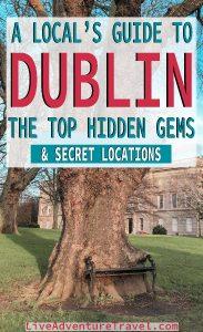 Dublin Hidden Gems Pinterest Graphic