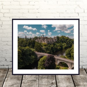 Lismore Castle Waterford Landscape Print