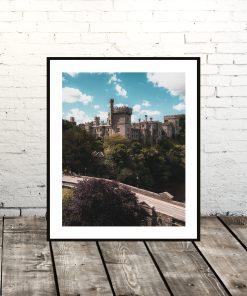 Lismore Castle Waterford Portrait Print