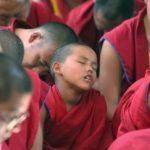 falling asleep in meditation