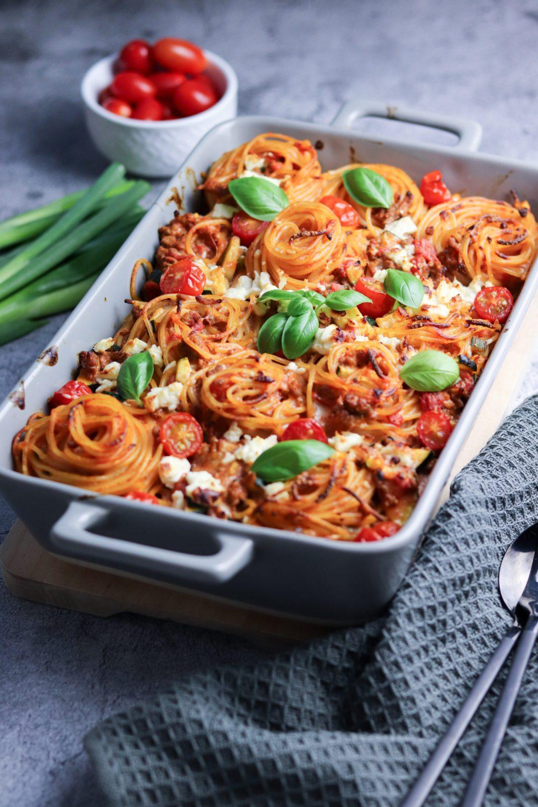 Spaghettiauflauf 3