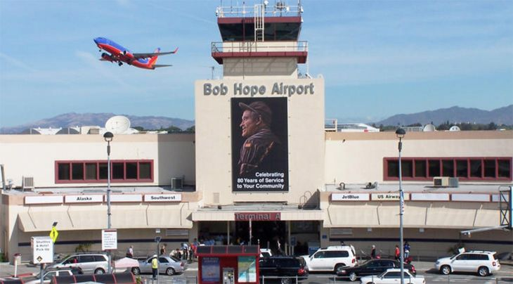 Image result for bob hope airport