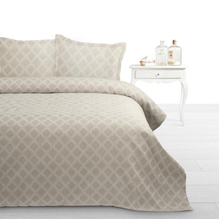 Bedsprei Fancy Embroidery Adele Taupe