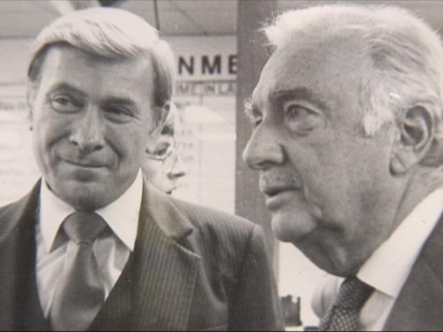 Jim Axel, WAGA with Walter Cronkite