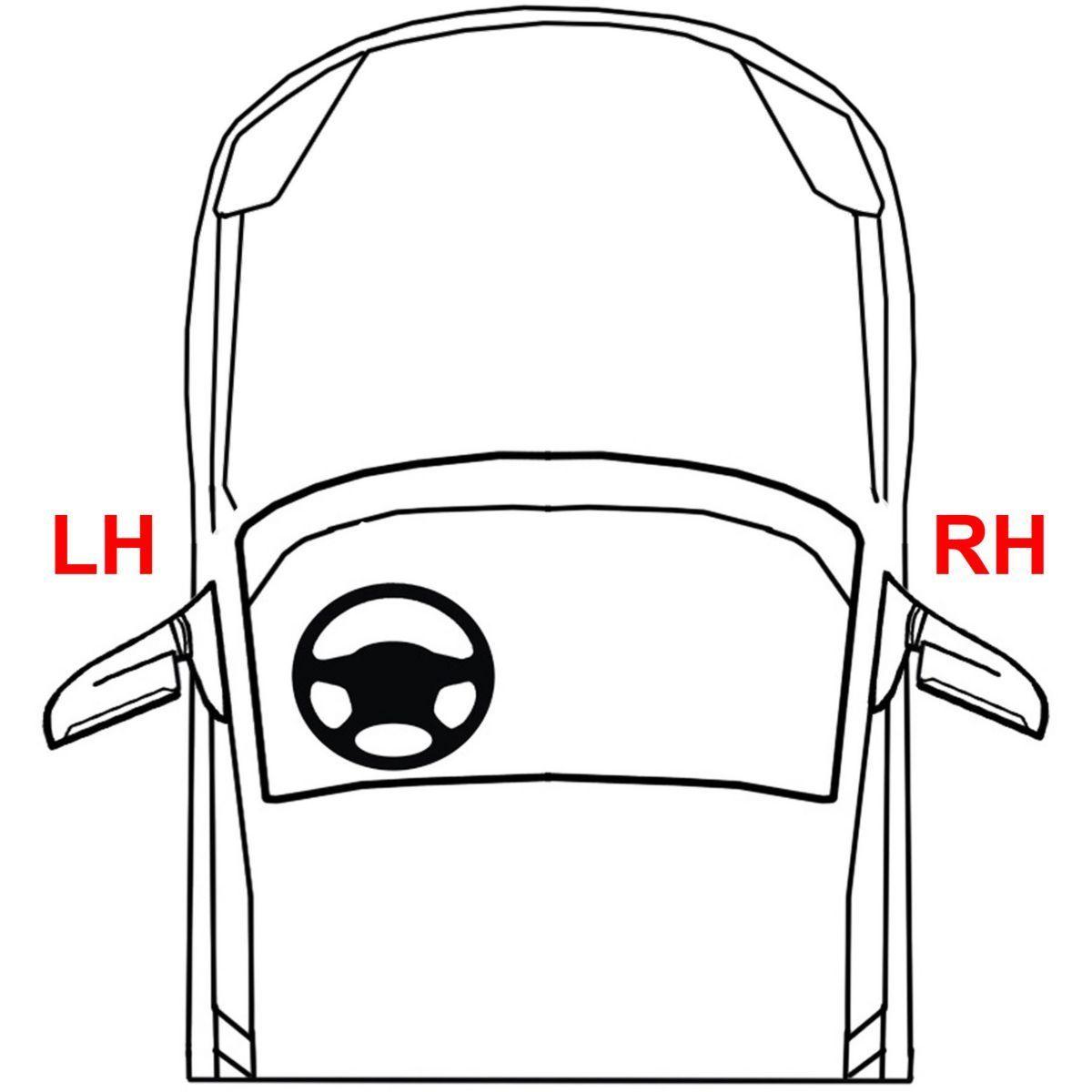 New Passenger Side Tail Light For Nissan Xterra