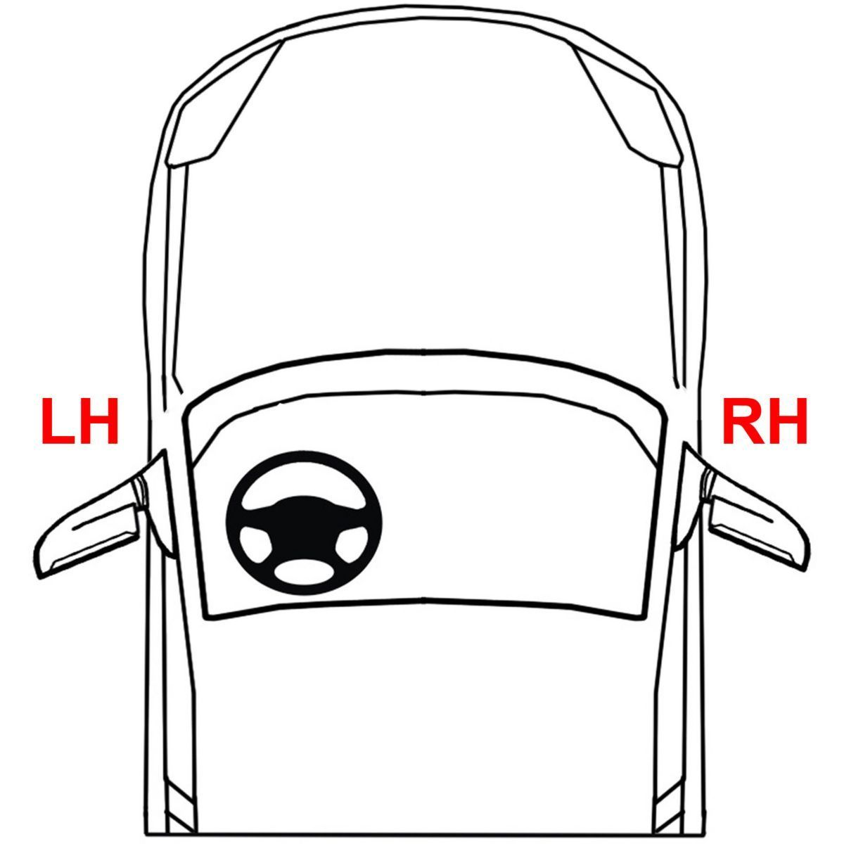 New Front Driver Side Door Handle For Kia Sportage
