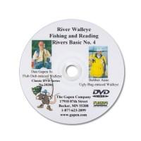 River Fishing How To Catch Walleye, Walleye Fishing River DVD, Learn River Fishing
