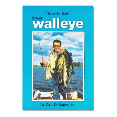 River Walleye Fishing Book Catch River Fish