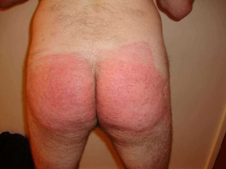 spanked bottom, spanking cams