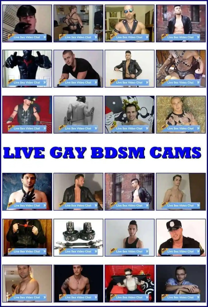 gay bdsm cams, gay cams, live gay chat