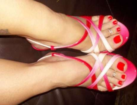 The foot Goddess
