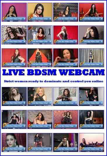bondage cams, live bondage webcams