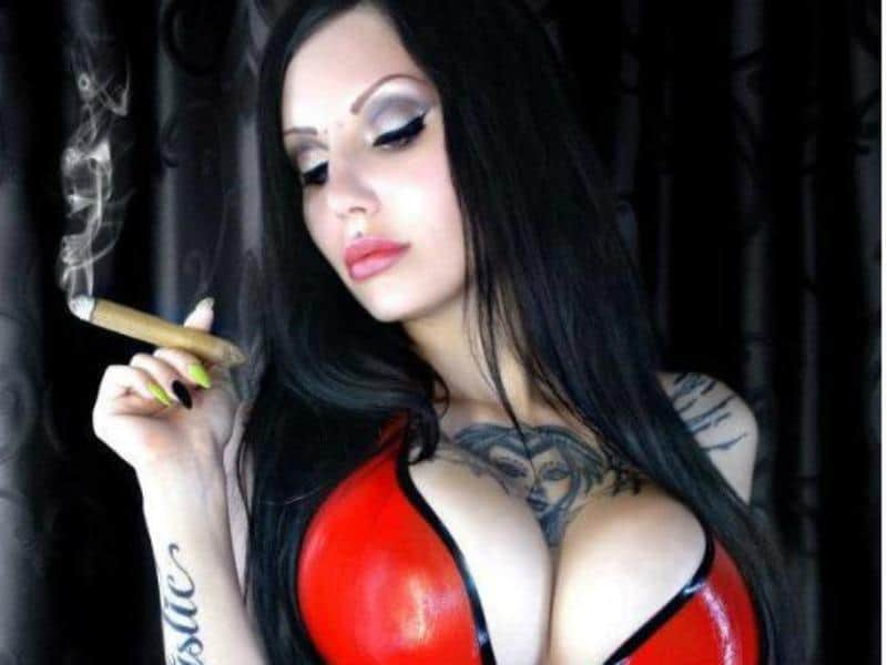 Smoking Mistress Abused Her Slave Fetish Mistress
