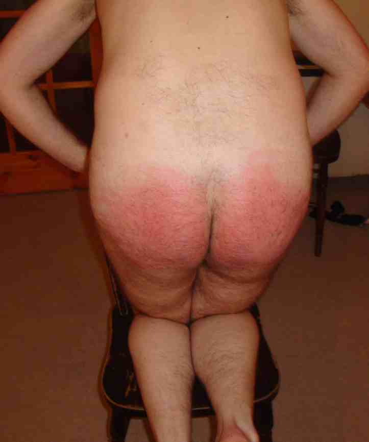 spanking, caning, red ass, bdsm picture