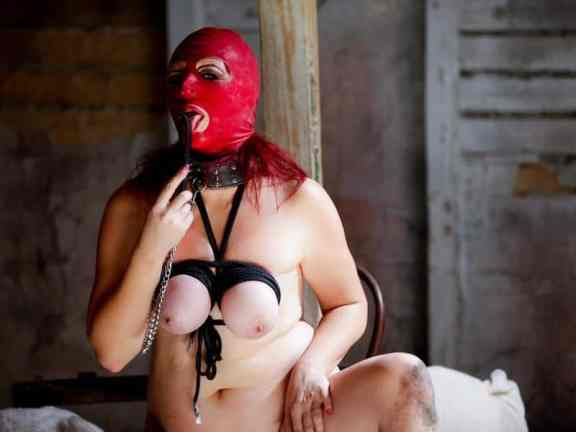 female tit bondage