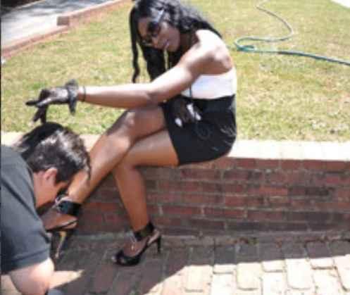 black dominatrix, ebony femdom