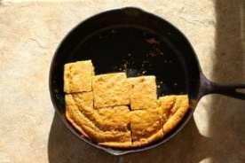 cornbread squares