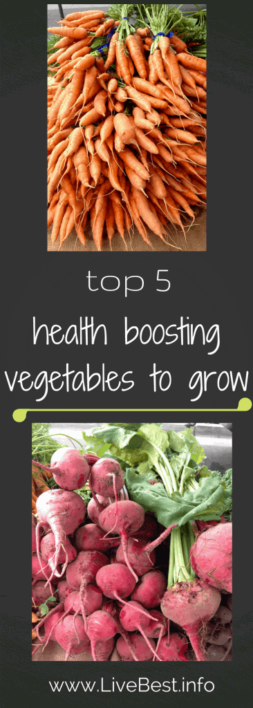 Plant some seeds! 5 plants to grow to boost your health. www.LiveBest.info.