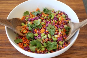 Chopped Asian Salad in a bowl