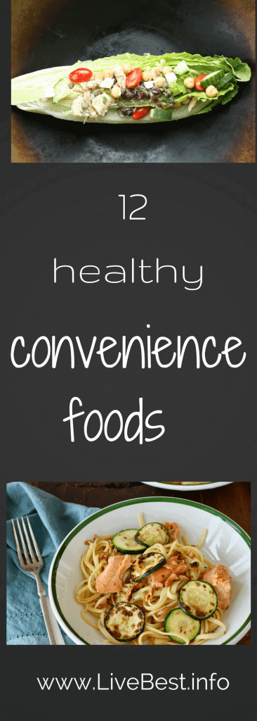 Healthy convenience foods make cooking fast and easy. Real foods deliciously! www.LiveBest.info