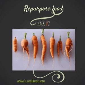 Repurpose Vegetables Food Hack #2