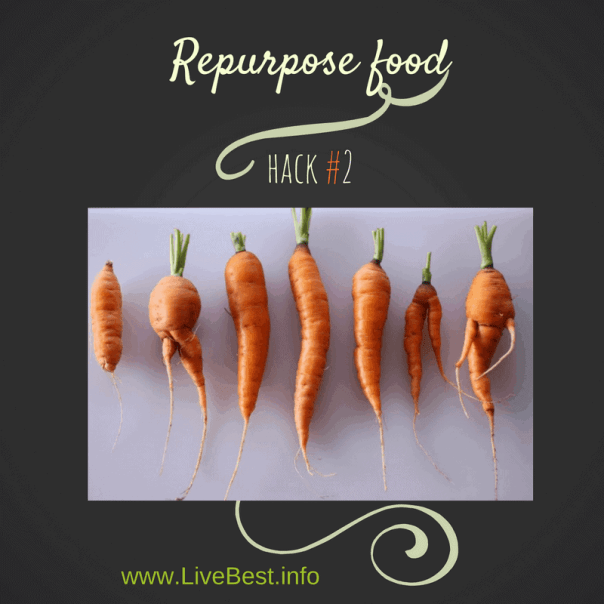 Repurpose Food is a LiveBest series where I share delicious ways to reduce food waste. Join me as we repurpose vegetables to create best overs - one delicious bite at a time!