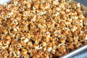 Honey Spiced Popcorn