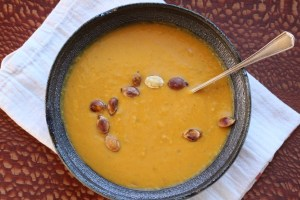 Thai Squash Soup | Satisfying, hearty, healthy soup recipe from www.LiveBest.info