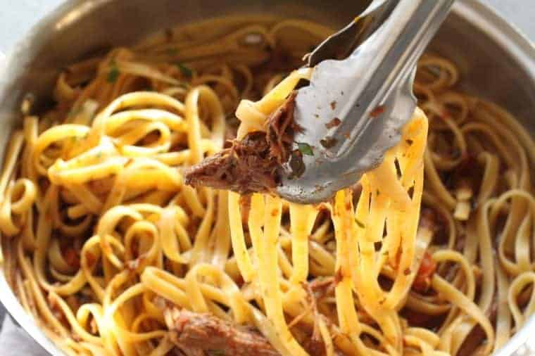 Short Rib Ragu   Melt-in-your mouth short ribs make this ragu company worthy. The Insta Pot makes it super simple. www.LiveBest.info