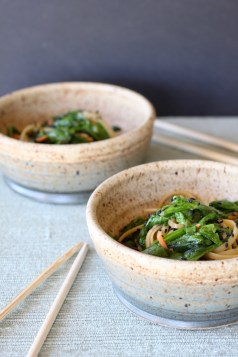 Korean Noodles   In less than 30 minutes, a vegetarian meal that is full of flavor and delivers healthy benefits. Real food deliciously! www.LiveBest.info