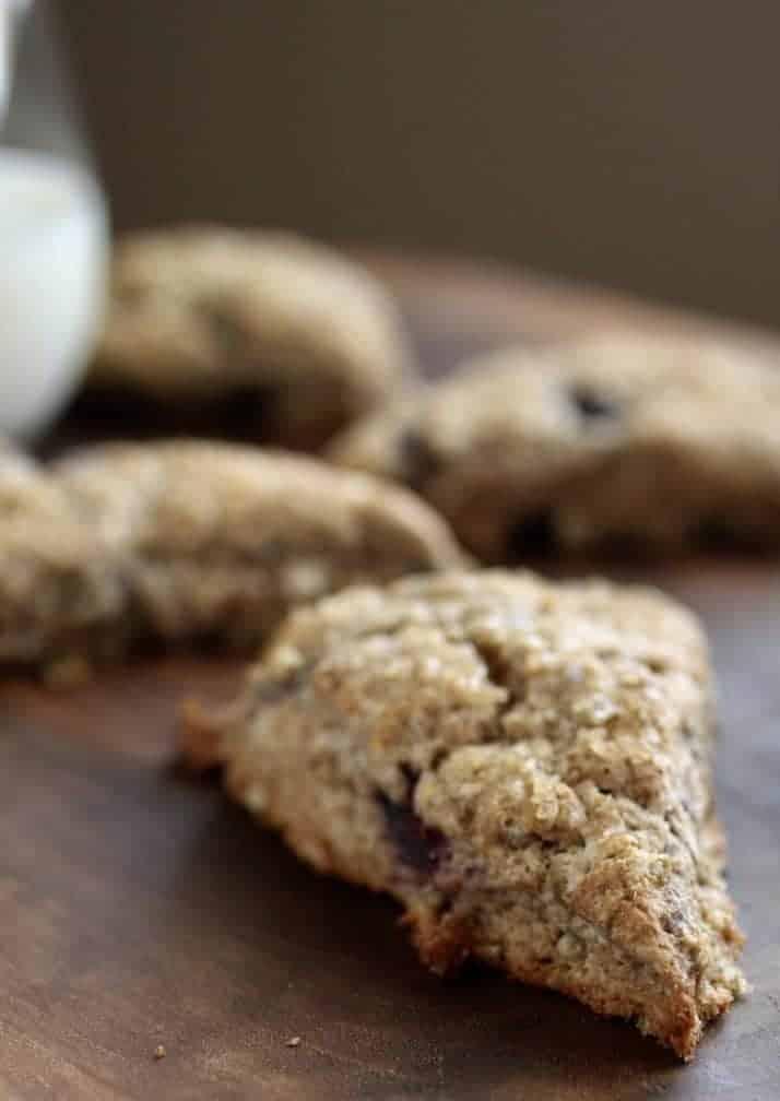 Blueberry Ginger Spekt Scones