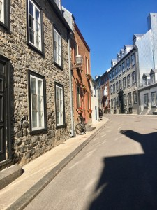 Quebec City street