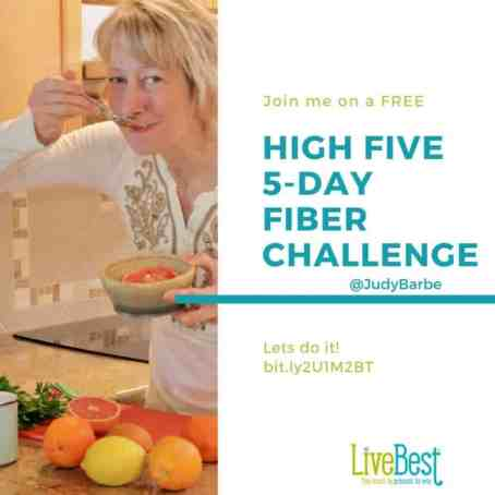 High Five Fiber challenge ad