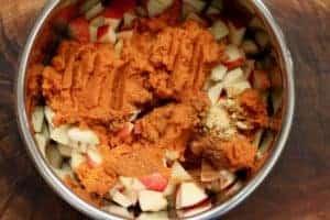 Instant Pot Apple Pumpkin Butter has no added sugar.