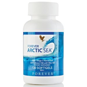 Forever Arctic Sea – (Fish & Olives Oils) – Natural Source of Omega 3 & Important Elements of Cardiovascular Health, Digestive System, Immune System & Brain Health
