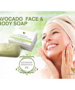 Forever Avocado Face & Body Soap – 100% from Avocado butter That Renew Your Skin Youth