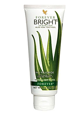 Forever Bright Toothgel – for White Teeth & Strong Gums, doesn't Contain Fluoride