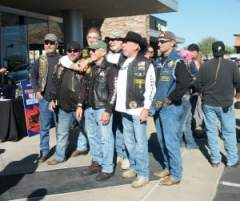 Riders for Operation Toy Ride
