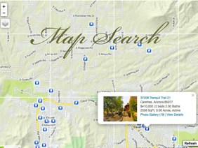 LBIS Scottsdale Homes Map Search