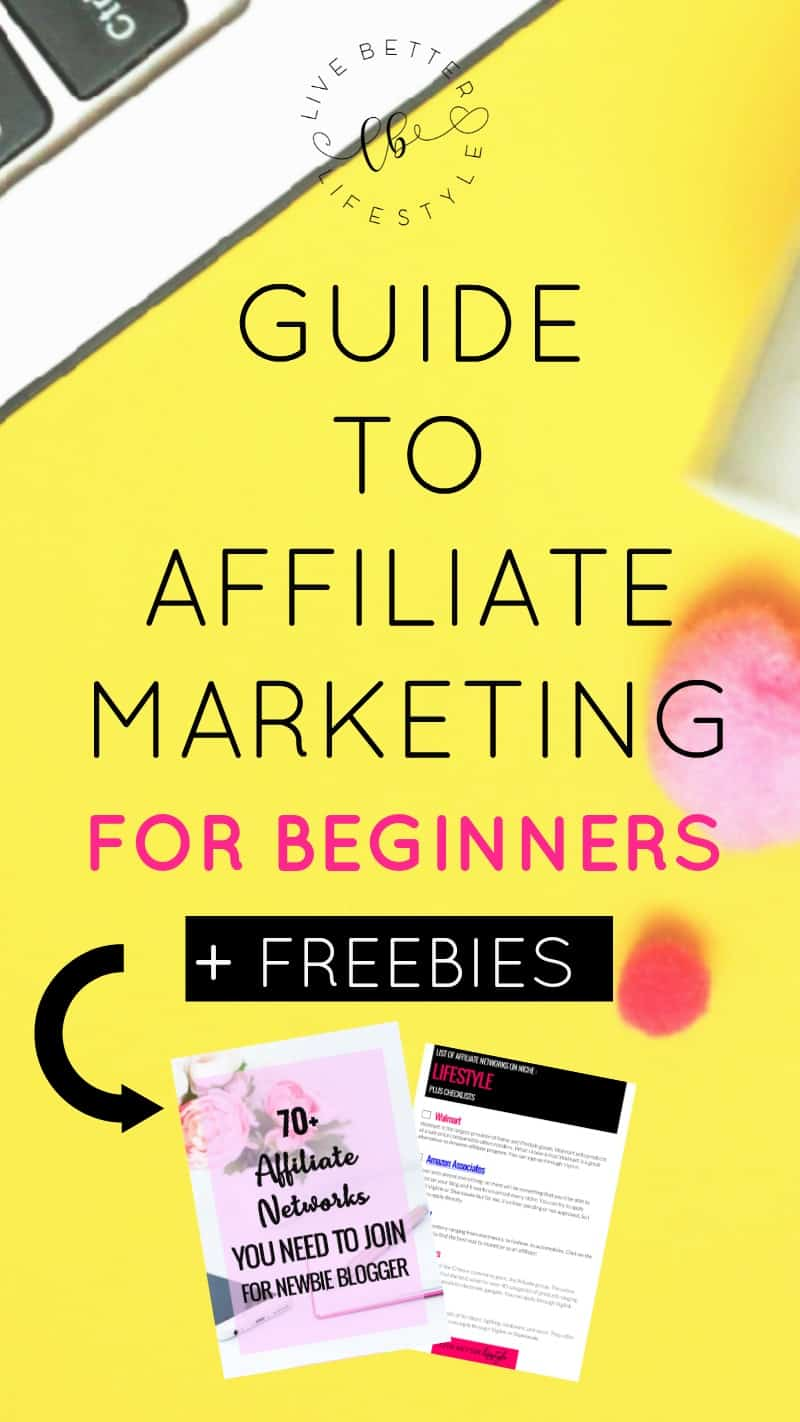 beginners guide to affiliate marketing for bloggers