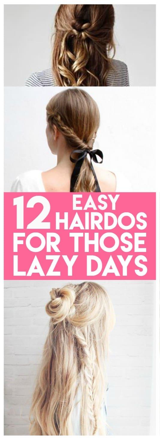 easy hairdos for everyday