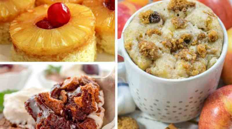 easy delicious mug cake recipes